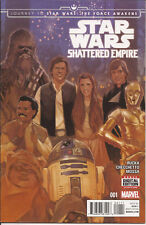 Journey to Star Wars Force Awakens Shattered Empire #1 Marvel Battle of Endor VF