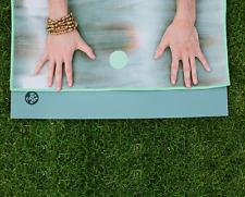 MYSTIQUE ELEMENT GRAY Yogitoes skidless yoga towel  TIE DYE MANDUKA 24x68