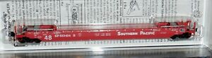 Micro-Trains N scale - Sothern Pacific  70' Husky Stack Well Car #513414B