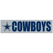 "NFL DALLAS COWBOYS  3"" X 12""  BUMPER STICKER"
