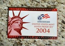 2004 United Sates Mint Silver Proof Set with Certificate of Authenticity