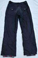 BODY GLOVE Men's Black Ski Snowboard Pants Insulated Waterproof 6142 Size Small