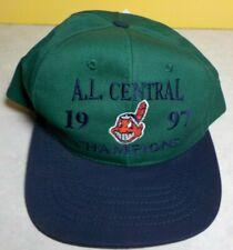 Cleveland Indians hat 1997 AL Champions Champs vintage  NEW