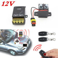 400A Car Battery Isolator Disconnect Kit Cut Off Master Switch Positive+Negative