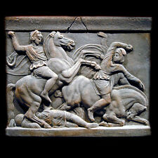 Alexander the Great Sarcophagus plaque Sculpture Museum Replica Reproduction