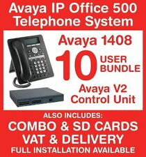 Avaya IP Office Phone System - 10 user bundle - Includes VAT