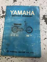 Yamaha U-5E 50cc Service Shop Repair Workshop Manual OEM
