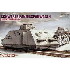 Dragon DRA6072 Schwerer Panzerspähwagen infanteriewagen S. SP 1/35 Escala Modelo