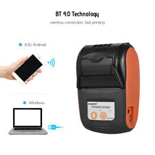 Mini 58mm Handheld Bluetooth Wireless Pocket POS Thermal Receipt Printer D1H9