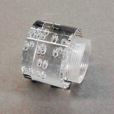 Replacement Glass 1386 Wofi ANTIBES Luftblasenoptik Clear Cylinder Thread
