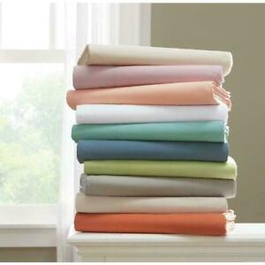 New Valance Collection 1 PC 1000TC Egyptian Cotton AU Emperor Size Solid Colors