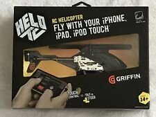 HELO TC RC Helicopter Works With iPhone, iPad IPodTouch