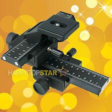 Macro Shot Focusing Close-Up Rail Slider Photo Nikon Nikkor 105mm F2.8G Micro