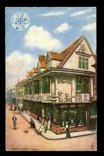 Suffolk IPSWICH Ancient House Railway GER OFFICIAL vintage Oilette PPC