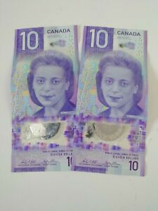 Leftover holiday money 20 Canadian Dollars..