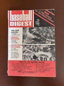 August 1969 Baseball Digest