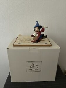 Mickey Mouse Disney Animation The Magic Of Animation Sorcerer Mickey And Broom