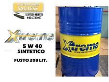 FUSTO OLIO MOTORE  XTREME 5W40 SINTETICO 208 LIT  ACEA A3/B3/B4