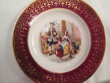 Weatherby Royal Falcon Butter Pat Dish Plate Stroke on Trent England Family