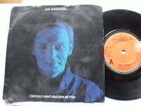 JIM DIAMOND 1984>I SOULD HAVE KNOWN BETTER>45rpm vinyl 7ins record JUKEBOX