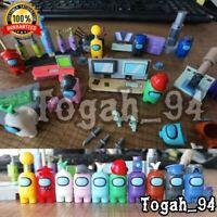 10pcs/set Among Us Game Model Building Parts Toys Mini figure Lot Action Figures