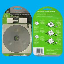 10m RJ11 Extension Wire Cable Reeler Kit, BT Telephone, Modem, ADSL Fax, Coupler