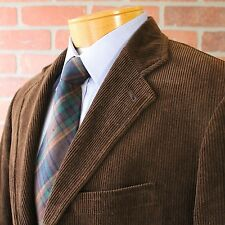 Polo Ralph Lauren 100% Cotton Brown Corduroy Sportcoat Blazer Jacket Medium