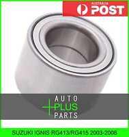 Fits SUZUKI IGNIS RG413/RG415 2003-2008 - Front Wheel Bearing 35X61.8X40