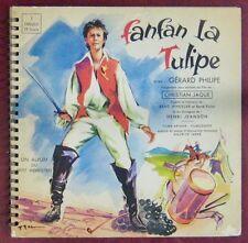 Fanfan la Tulipe 33 Tours 25 cm Gérard Philipe Maurice Jarre