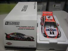 Garth Tander  signed 2015 VF Commodore 1:18 scale car + COA & Photo Proof