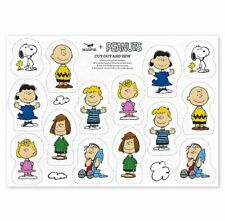 PEANUTS CUT and SEW Kitchen TEA TOWEL 100% Cotton Snoopy Charlie Lucy