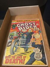 1972 Marvel spotlight Ghost Rider #10, into the jaw of Death!   C