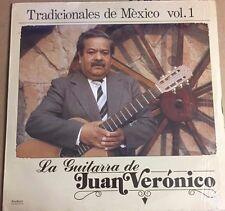 JUAN VERONICO LA GUITARRA DE. TRADICIONALES DE MEXICO VOL. 1 MEXICAN 1988 LP WOC