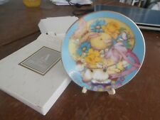 "avon collectible 1995 easter 5"" plate ""My easter bonnet"""
