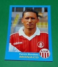 N°215 PATRICK BLONDEAU AS MONACO LOUIS II PANINI FOOT 96  FOOTBALL 1995-1996