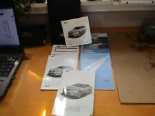 New listing 2010 Ford Taurus Owners Manual W/ Unopened Facts, Functions and Features Dvd
