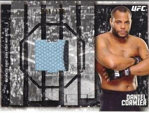 Daniel Cormier 2015 Topps UFC Knockout Fight Mat Relic Card #008/188