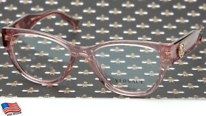 NEW VERSACE MOD. 3281-B 5322 Pink EYEGLASSES GLASSES FRAME 51-17-140 B40mm Italy