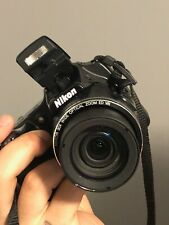 Nikon COOLPIX L820 16.0MP Digital Camera With Optex 1465 Carbon Fibre Tripod