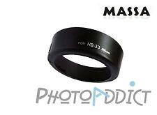 MASSA Pare-Soleil - HB33 - Type Nikon HB33
