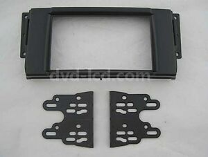 Car Radio Fascia Stereo frame facias for Land Rover Freelander Discovery Bezel