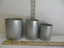 Pick 4 from any 3 sizes for $13. Pillar Candle Molds Seamless Aluminum