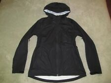 The North Face Women's Allproof Stretch Rain Jacket L Large Black Waterproof