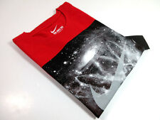 NIKE - MEN'S GALAXY NET TEE - RED - SZ. L - NEW - 100% AUTHENTIC