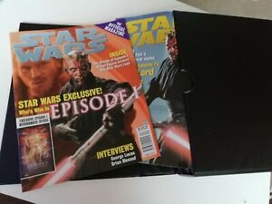 Star Wars Magazine total 20 issues 1 too 20 all mint in a Professional Case