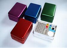 35 Holes Dental Bur Holder Disinfection Box For Endo Files Gutta Percha Points
