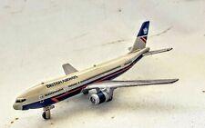 ERTL Vintage Boeing 767 British Airways Diecast Plane Jet Tran Loose