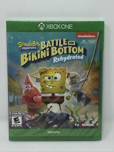 Spongebob Squarepants: Battle for Bikini Bottom Rehydrated (Xbox One) BRAND NEW