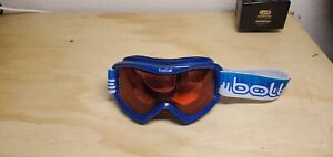Bolle 21903 VoltYouth Ski Goggles, Blue Red Equalizer/Vermillion Lens Great cond