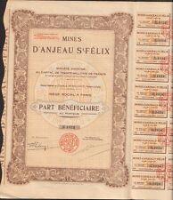 Mines d'ANJEAU ST FELIX (GARD 30) (T)